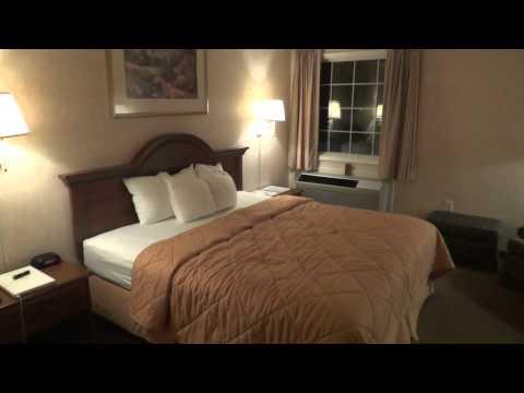 Comfort Inn Burkeville VA Hotel Tour Sony Cybershot DSC-TX10 in 1080p
