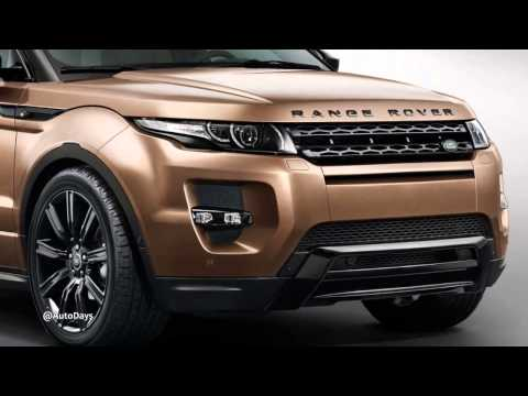 Revealed 2014 Range Rover Evoque with Nine Speed Automatic Gearbox