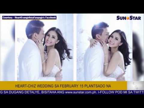 Heart-Chiz wedding sa Feb. 15 plantsado na