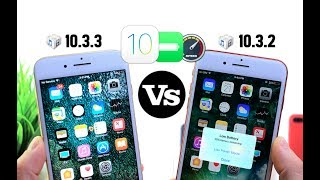 iOS 10.3.3 Vs 10.3.2 Performance Test & Battery TestTwitter:  http://twitter.com/idevicehelpusFacebook: http://full.sc/16O2BOUUpdate to iOS 10.3.3 NOW ! Why You Should Consider ithttps://youtu.be/w0disB5R9XciOS 10.3.3 Final Version Released & Jailbreak information Updatehttps://youtu.be/HYYfkQVHvNsApple Security Released Notes: iOS 10.3.3https://support.apple.com/en-us/HT207922More Crazy Hacks, Tricks & Glitches on iOS 11https://youtu.be/BE27CsOjAX43 Amazing AppStore Apps (Emoji Edition)https://youtu.be/DLQh9CH_eSYCrazy Tricks & Glitches in iOS 11https://youtu.be/hxmzEm_e7TAGet iOS 11 Looks & Features in iOS 10 Jailbreakhttps://youtu.be/DhI3-nTicogiOS 11 Beta 3 Follow up More New Features & Changeshttps://youtu.be/6OhSKo2j2ioiOS 11 Beta 3 Battery Test Vs Beta 2 https://youtu.be/2sRl_cwdj5wiOS 11 Beta 1 Vs Beta 2 Battery Performance And iOS 10.3.3 Beta 4https://youtu.be/TWy34Ne8aZciOS 11 BETA 3 is out What's new ?https://youtu.be/9YgQGz-wLyQ
