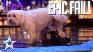 Video TOP EPIC FAILS! | Britain's Got Talent MP3, 3GP, MP4, WEBM, AVI, FLV Oktober 2018