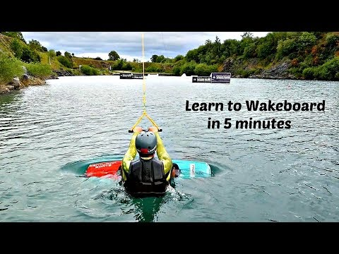 Learn to Wakeboard - 3 easy steps.