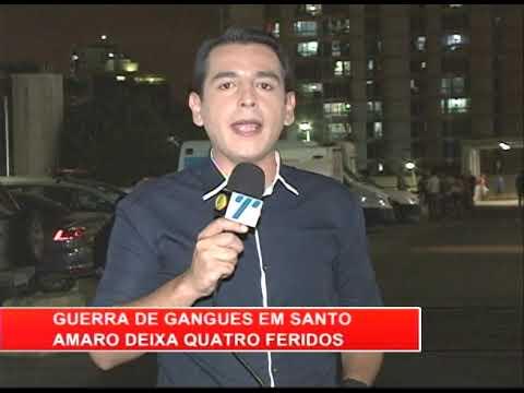 [RONDA GERAL] Guerra de gangues em Santo Amaro deixa 4 feridos