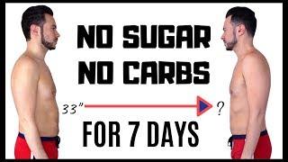 Video Guy Tries NO SUGAR 🍩 NO CARBS🥖 for 7 DAYS | The JLo  🍖 KETO Diet Challenge (...sort of) MP3, 3GP, MP4, WEBM, AVI, FLV Juni 2019