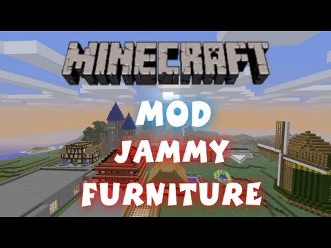Minecraft - Mods: Jammy Furniture