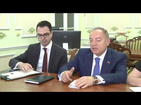 Igor Dodon a avut o întrevedere cu Ambasadorul Turciei, acreditat la Chișinău