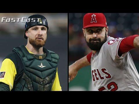 Video: MLB.com FastCast: Shoemaker, Lucroy sign - 12/28/18