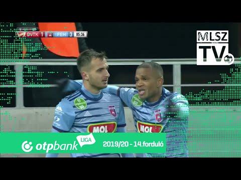 14. forduló: DVTK - Fehérvár 1-3 (1-2)