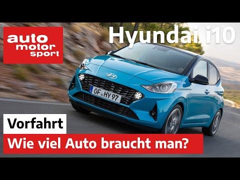 Hyundai i10 (2020): Wie viel Auto braucht man noch? – ...