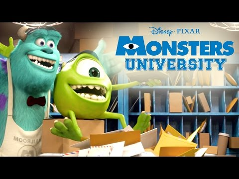 Furry Monsters | Monsters U | Disney Pixar