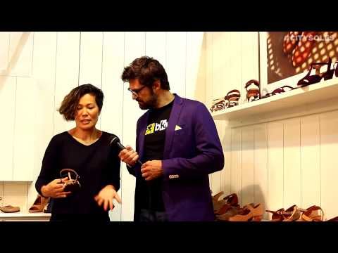 Micam 2014 | Chie Mihara | Footwear Designer Interview | City Soles TV