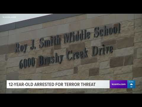 12-year-old arrested for terror threat