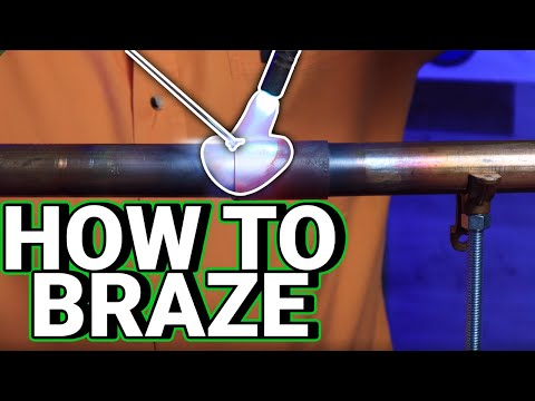 How Professional Plumbers BRAZE COPPER LINES