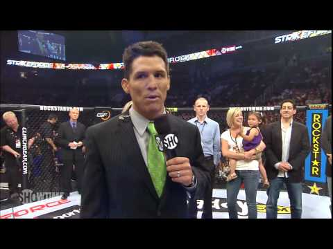 Frank Shamrock  Retirement Tribute at Strikeforce June 26 2010