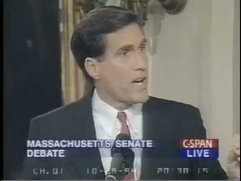 1994 Mitt Romney Debates Ted Kennedy on Healthcare