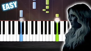 Demi Lovato - Let It Go - EASY Piano Tutorial  Ноты и МИДИ (MIDI) можем выслать Вам (Sheet music for