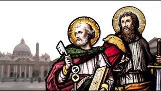 """Leia o Evangelho deste domingo e em seguida escute a homilia do Padre Rodrigo Maria:Evangelho (Mt 16,13-19)— O Senhor esteja convosco.— Ele está no meio de nós.— PROCLAMAÇÃO do Evangelho de Jesus Cristo + segundo Mateus.— Glória a vós, Senhor.Naquele tempo, 13Jesus foi à região de Cesareia de Filipe e ali perguntou aos seus discípulos: """"Quem dizem os homens ser o Filho do Homem?""""14Eles responderam: """"Alguns dizem que é João Batista; outros que é Elias; outros ainda, que é Jeremias ou algum dos profetas"""". 15Então Jesus lhes perguntou: """"E vós, quem dizeis que eu sou?""""16Simão Pedro respondeu: """"Tu és o Messias, o Filho do Deus vivo"""". 17Respondendo, Jesus lhe disse: """"Feliz és tu, Simão, filho de Jonas, porque não foi um ser humano que te revelou isso, mas o meu Pai que está no céu. 18Por isso eu te digo que tu és Pedro, e sobre esta pedra construirei a minha Igreja, e o poder do inferno nunca poderá vencê-la. 19Eu te darei as chaves do Reino dos Céus: tudo o que tu ligares na terra será ligado nos céus; tudo o que tu desligares na terra será desligado nos céus"""".— Palavra da Salvação.— Glória a vós, Senhor."""