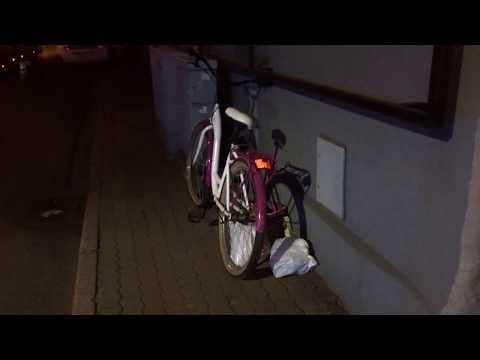 Wideo1: Potrącenie rowerzystki na Al. Krasińskiego w Lesznie