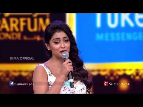 Micromax Siima 2015 | Best Actor Supporting Role Female Telugu | Shriya Saran | Manam