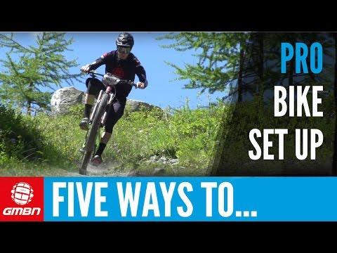 5 Pro Set-Up Tips To Make You A Better Mountain Biker (видео)