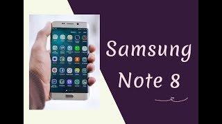 Samsung Note 8 İnceleme   Samsung Galaxy Note 8 Özellikleri
