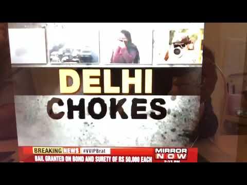 Dr Sanjeev Bagai (Vice-Chairman and Director) talks on Delhi's air pollution