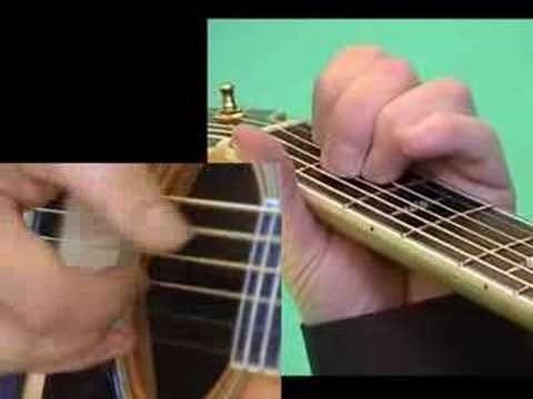 Online Guitar Lessons Classical Gas Part One www.6-string-videos.com