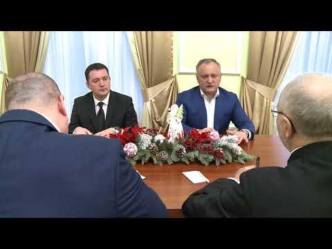 Глава государства встретился с Чрезвычайным и Полномочным Послом Российской Федерации в Республике Молдова Фаритом Мухаметшиным
