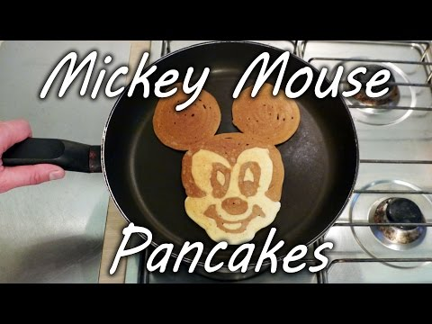 How to Make Mickey Mouse Pancakes