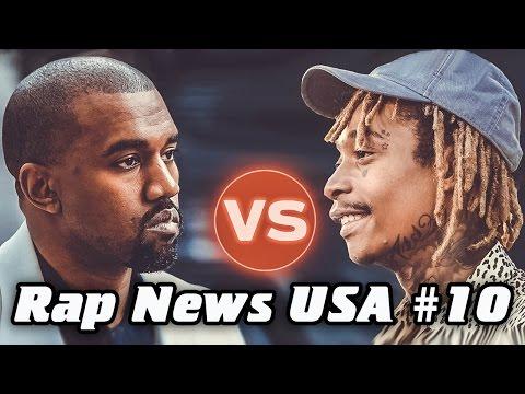 RapNews USA #10 [Kanye West VS Wiz Khalifa] (2016)