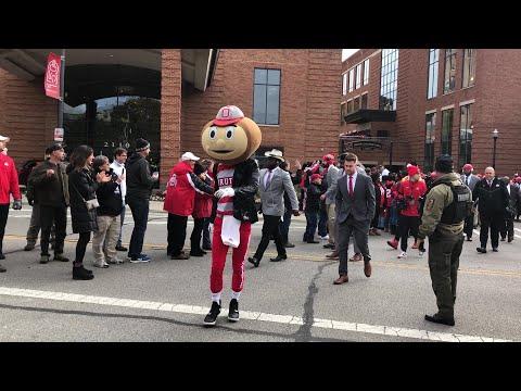 Buckeyes head to Ohio Stadium before Maryland game