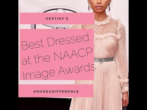NAACP IMAGE AWARDS- Best Dressed