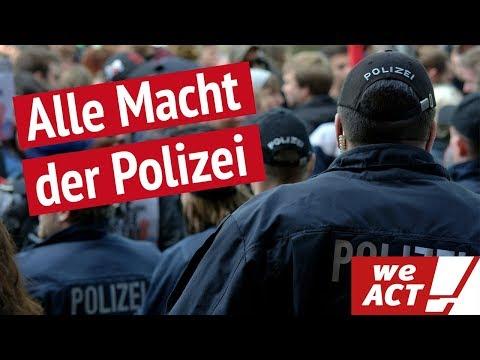 Deutschland könnte Überwachungsstaat werden - das neue Polizeigesetz in Bayern