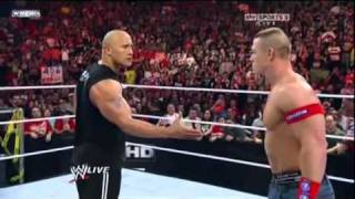 Watch Now - http://www.ewrestling.news/Our Facebook Page - https://www.facebook.com/eWrestlingNewsTVWe Will Be Updating WWE Raw, SmackDown, NXT, Superstars, Games, DVD Releases, Magazine and More to bring you all the Latest Wrestling News, Rumors, Results, and Spoilers.WWE WrestleMania 4/1/12 - John Cena Vs. Rock In WrestleMania 28 In MIAMI - (Corre Attack Them) *HD*