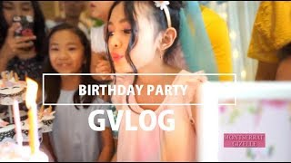 Video GVLOG #1 - Birthday Party Gizelle MP3, 3GP, MP4, WEBM, AVI, FLV Juni 2019