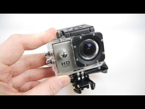 SJ4000 HD Action Camera Review 2014 Video Old Model Read Description