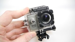 6. SJ4000 HD Action Camera Review - All the mounts - half the price