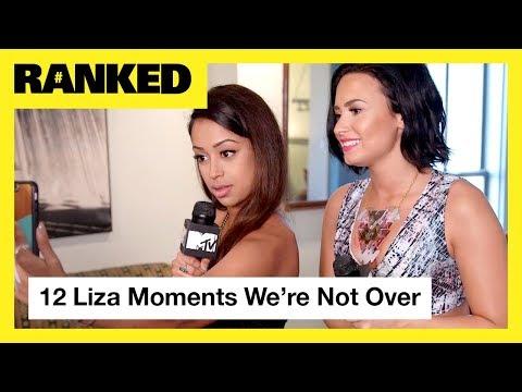 Liza Koshy's TOP 12 Moments ft. Demi Lovato, G-Eazy, Jacob Sartorius & More! | MTV Ranked (видео)