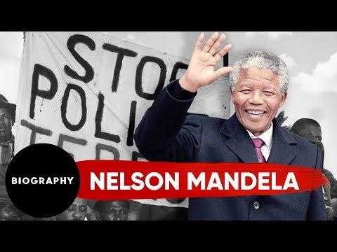 Nelson Mandela - Former President of South Africa | Mini Bio | Biography