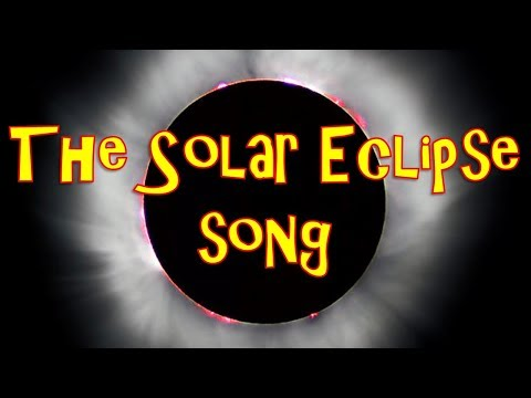 The Solar Eclipse Song | Solar Eclipse Song for Kids | Solar Eclipse Facts | Silly School Songs