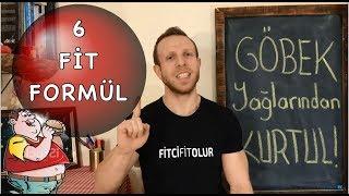 GÖBEK YAĞLARINDAN HEMEN KURTUL | 6 FİT FORMUL | FitciFitOlur TV