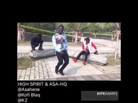 Sarkodie Gboza dance video by Asa_HQ & High_Spirit dance crew