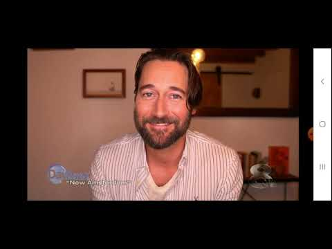 Ryan Eggold interview with news channel 8 talking about new amsterdam