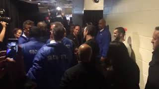 LEAKED | GSP and Robert Whittaker Cross paths backstage At UFC 217