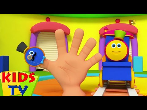 Bob der Zug | Fingerfamilie | Kinder Song | Bob The train | Finger Family Song | Baby Rhyme Song