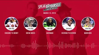 Video SPEAK FOR YOURSELF Audio Podcast (3.13.18) with Colin Cowherd, Jason Whitlock | SPEAK FOR YOURSELF MP3, 3GP, MP4, WEBM, AVI, FLV Maret 2018