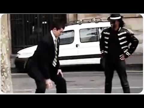 impersonator - Michael Jackson impersonator discovers he's not the only one with dance moves when a mormon missionary comes walking by. Original Link: https://www.youtube.com/watch?v=jGLJuL49zYE ...