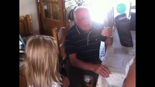 GRANDPA GETS A PUPPY!! - YouTube