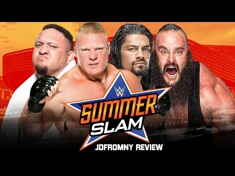 WWE Summerslam 2017 Full Show Review & Results: ANOTHER DISAPPOINTING PARTY THIS SUMMER