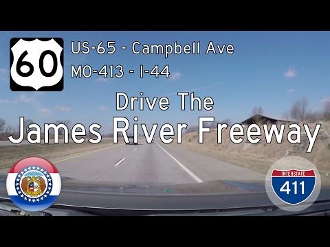 US Highway 60 - Springfield - Missouri | Drive America's Highways 🚙